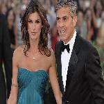 Clooney and Elisabetta Canalis